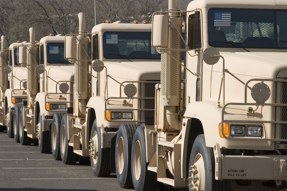 military-vehicles-lined-up